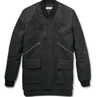 Tim Coppens - Panelled Coated Cotton Jacket