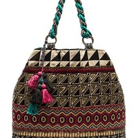 STELA 9 Shiva Tote in Black