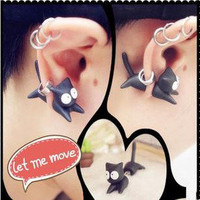 Cute Fashion Cat Earring For One