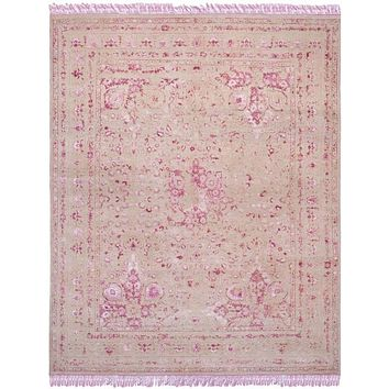 Safavieh Dream Collection DRM111B Pink / Fuchsia Rug