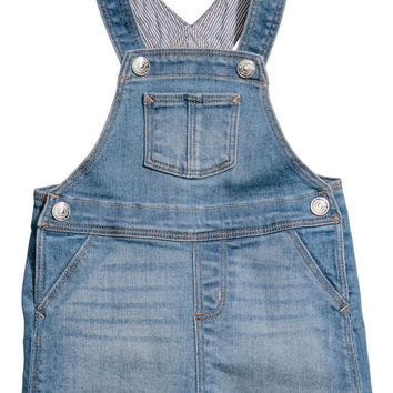 H&M Denim Bib Overall Dress $17.99