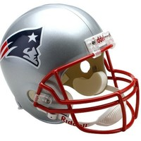 NFL New England Patriots Deluxe Replica Football Helmet