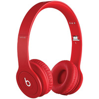 Apple Beats Solo Drenched Headphones (red Matte)