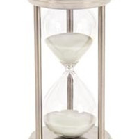Metal/Glass 60 Minutes Hourglass For Hour Measurement
