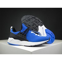 Fila Destroyer 1825 Royal Blue/black Running Shoes Size 36 44.5 | Best Deal Online