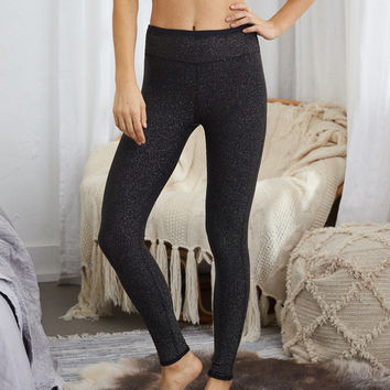 Aerie Chill Sparkle Legging, Black