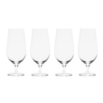 Orrefors Crystal Lager Glass (Set of 4)