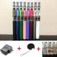 1100mAh Battery Vaporizer Vape Pen Starter Kit w/ Charger + Lanyard + E-Juice