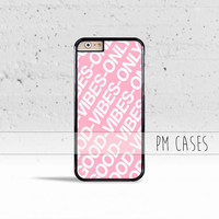 Good Vibes Only Case Cover for Apple iPhone 4 4s 5 5s 5c 6 6s SE Plus & iPod Touch
