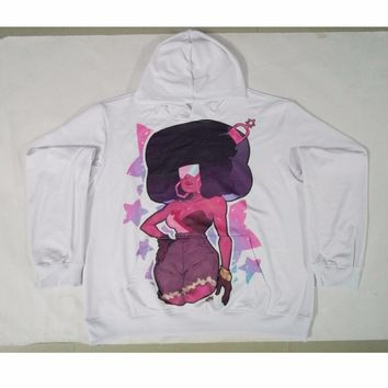 Real American size steven universe 3D Sublimation Print OEM  Hoody/Hoodie  Custom made Clothing plus size