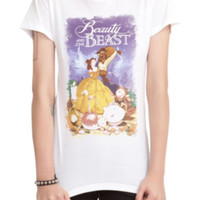 Disney Beauty And The Beast Dance Scene Girls T-Shirt