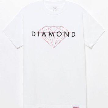 DCCKYB5 Diamond Supply Co Brilliant Script T-Shirt