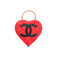 Chanel Very Rare Heart Motif Bag