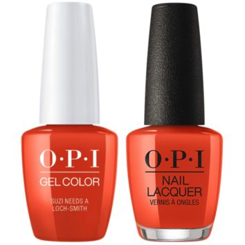 OPI - Gel & Lacquer Combo - Suzi Needs a Loch-smith