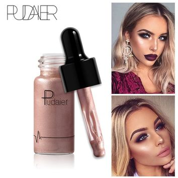 PUDAIER Professional Face Base Make Up Long Lasting Brighten Matte Mineral Whitening Liquid Base Foundation Makeup