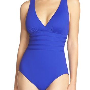 La Blanca Cross Back One-Piece Swimsuit | Nordstrom