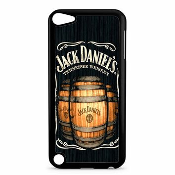 Jack Daniels On Black Wood 2 iPod Touch 5 Case