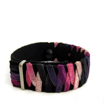 Anxiety/Stress Relief Bracelet (single band) Purplicious