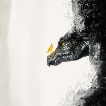 """The Dragon"" - Art Print by Majed Alharbi"