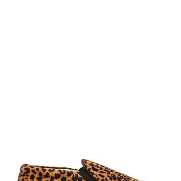 SENSO Ava VII Slip-On Cow Hair Sneaker in Brown