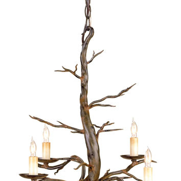 Currey Company Treetop Chandelier, Small