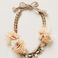Petal Sway Necklace by Anthropologie Pink One Size Necklaces