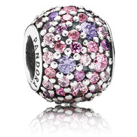 Pandora Purple/Pink Pave Lights