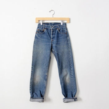 SALE vintage Levi's children's denim, waist 25