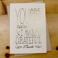 Thank You Cards | HOLSTEE