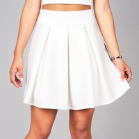 Pleated Skater Skirt | Cute Clothes at Pink Ice