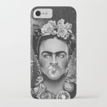 Frida kahlo Space iPhone & iPod Case by lostanaw