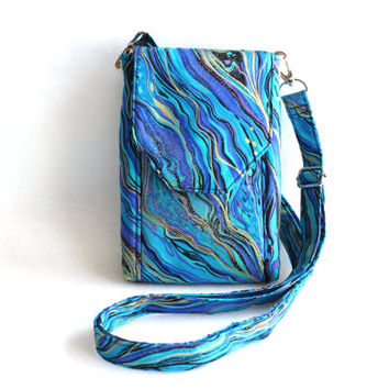 cell phone purse - smartphone purse - cell phone wallet - iphone purse - small crossbody bag - iphone 6 plus case - cell phone sling pouch