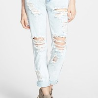 Glamorous Distressed Boyfriend Jeans (Bleach)
