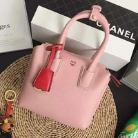 One-nice™ MCM pink Women Shopping Leather Handbag Tote Satchel H-MY-JDCHH
