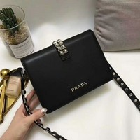 Prada super invincible and practical A calf leather shoulder strap