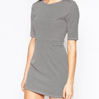 Wal G Structured Dress