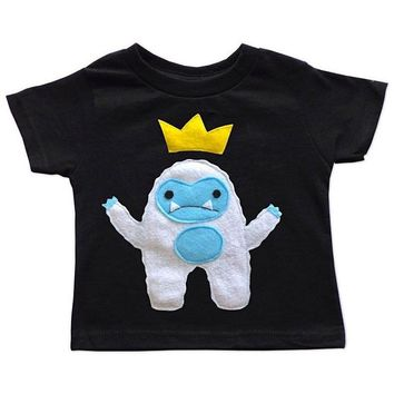 Kids T-shirt - Yeti King