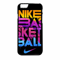 Nike Basketball Never Stop Colourfull iPhone 6 Plus Case