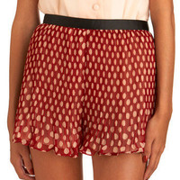 Accordion To Me Shorts | Mod Retro Vintage Shorts | ModCloth.com