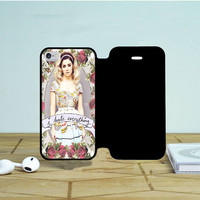 Marina And The Diamond Hate Everything iPhone 5 Flip Case Dewantary