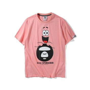 "AAPE by A Bathing Ape x SpongeBob ""Patrick Star Ape"" T-Shirt"