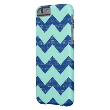 Chevron music iPhone 6/6s, Barely There Phone Case