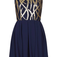 **Sarah Flame Dress by TFNC - Dresses - Clothing - Topshop USA