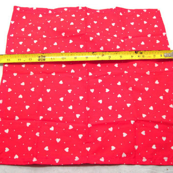 Valentines, Day, Red, White, Heart, Table, Mat, Decor, Napkin, Centerpiece, Wedding, Anniversary, Sweetest, Sweetheart, Placemat, Love, Gift