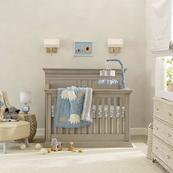Lambs & Ivy Elephant Tales 4 Piece Crib Set