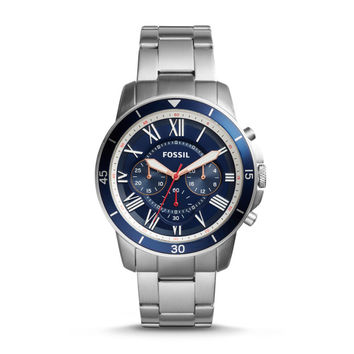 Grant Sport Chronograph Stainless Steel Watch