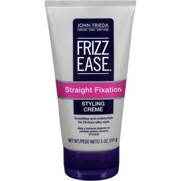 John Frieda Frizz-Ease Straight Fixation Smoothing Creme, 5 oz - Walmart.com