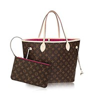 Louis Vuitton Monogram Canvas Pivoine Neverfull MM M41178