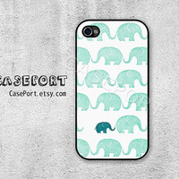 Elephant iPhone 4 Case, iPhone 4s Case, iPhone 4 Cover, iPhone 4s Cover, iPhone Hard Case