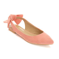 Daley Coral Bow Back Pump